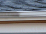 Gutters, before and after